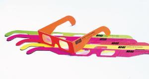 Diffraction Grating Glasses