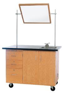Mobile Instructor's Desk