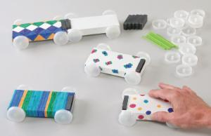 Magnet Cars Activity Kit