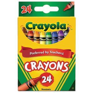 Crayola Crayons (Pkg/24)