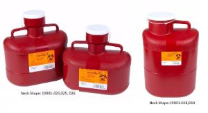 VWR® Sharps Container Systems, Neck Shape Style Lid