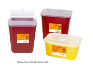 VWR® Sharps Container Systems, Mailbox Style Lid