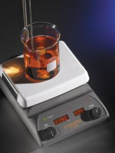Digital Stirring Hot Plate in Use