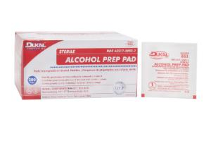 Alcohol Prep Pad Med, ST, 2ply