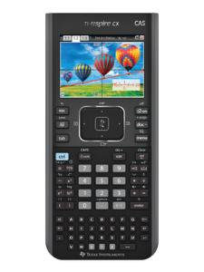 TI-Nspire CX CAS Graphing Calculator