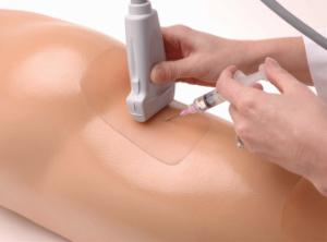 Sciatic nerve regional anesthesia ultrasound training model