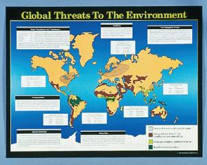 Global Threats to the Environment Chart