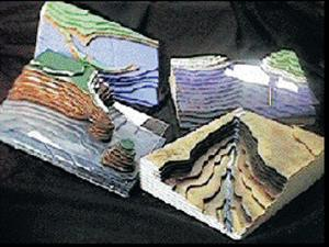 Geoblox Topographic Landform Models Set #1