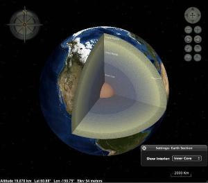 Layered Earth Geology Web