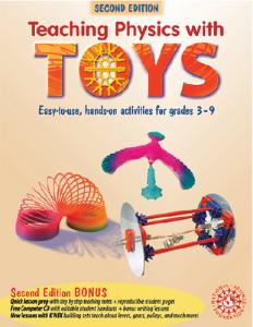 Teaching Science with Toys: Physics and Chemistry