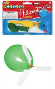 Whistle Balloon Helicopter