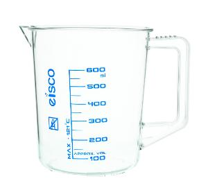 Beaker with Handle, 600 ml