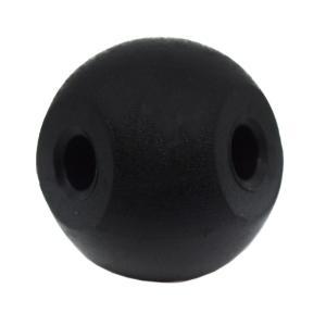 Four Hole Molecular Ball, Black