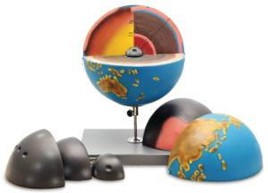 Earth's Interior Globe