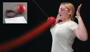 Bocce ball pendulum