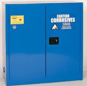 30-Gallon Metal Corrosives Storage Cabinet