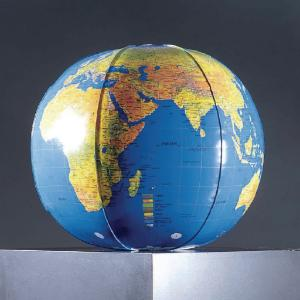 Inflatable Topographic World Globe