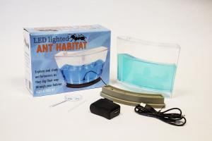 Non-LED ant habitat