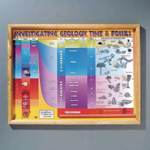 Fossils and Geologic Time Chart
