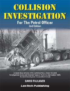 Collision Investigation for the Patrol Officer Textbook