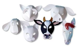 Fold-Up Masks