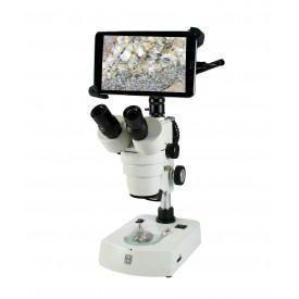 "Stereo Microscope Zoom with 8"" Tablet"