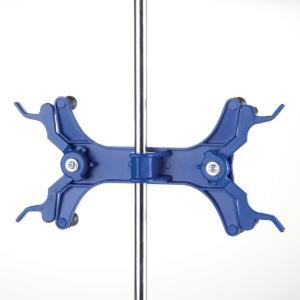 Double Buret Clamp with Vinylized Jaws