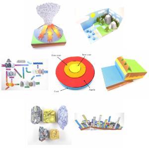 Geologic paper modeling