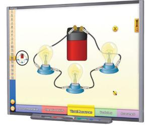 Interactive Whiteboard Science Lessons:  Electricity and Magnetism