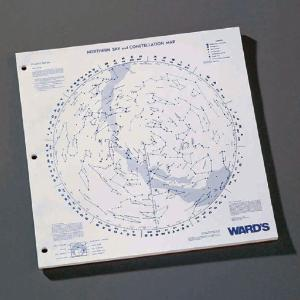 Ward's® Outline Star Charts—Northern Skies