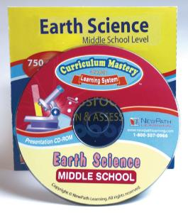 Earth Science Interactive Whiteboard Software, Middle School