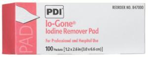 Io-Gone™ Iodine Remover Pads, PDI®