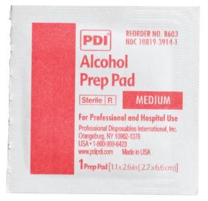 Alcohol Prep Pads, PDI®