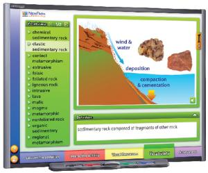 Interactive WhiteBoard Science Lessons: Rocks