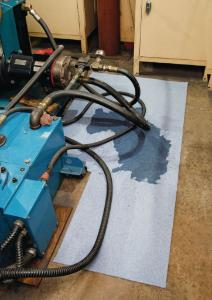 Pig Blue® absorbent mat roll