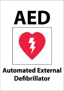 AED Sign, NMC