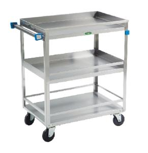 VWR® Guard Rail Carts, Stainless Steel
