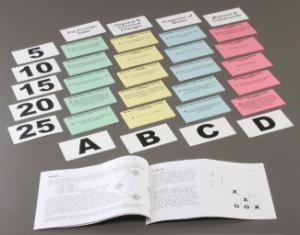 Probing Matter Card Game