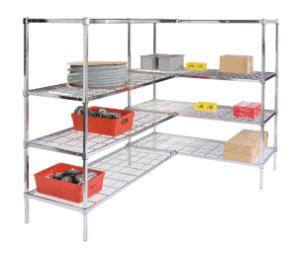 VWR® Wire Shelving with Square Posts, Heavy Duty