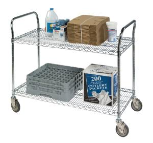VWR® Heavy-Duty Utility Wire Carts