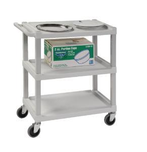 VWR® Standard-Duty Plastic Cart