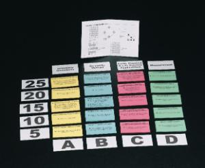 Probing Science Card Game