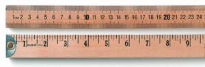 Wooden Meter and Half-Meter Sticks