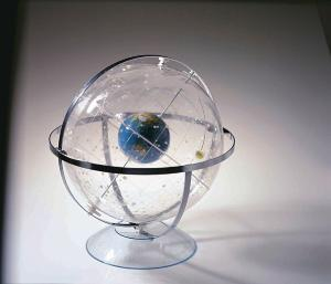"Transparent Celestial Globe, 12"""