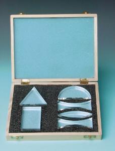 Acrylic Prism, Set of 6