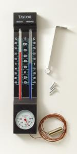 Indoor/Outdoor Thermometer and Hygrometer