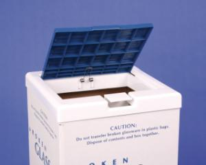 VWR® Broken Glass Disposal Cartons
