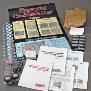 Ward's® NGSS: Fingerprint ID Magnetic Powder Kit