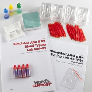 Simulated ABO & Rh Blood Typing Lab Activity