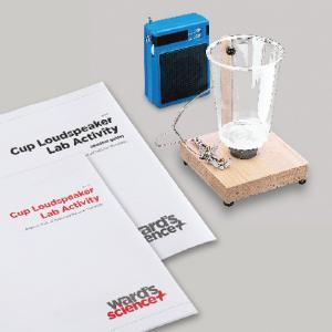 Cup Loudspeaker Lab Activity